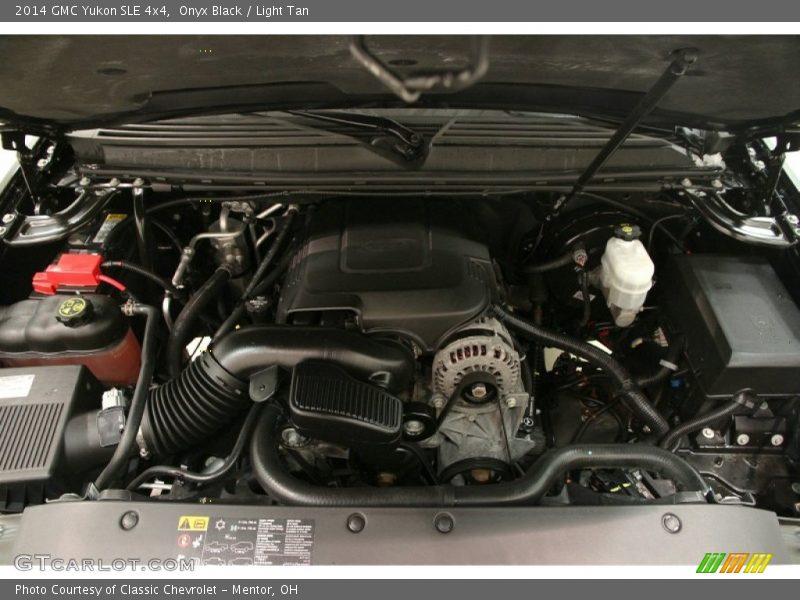 Onyx Black / Light Tan 2014 GMC Yukon SLE 4x4