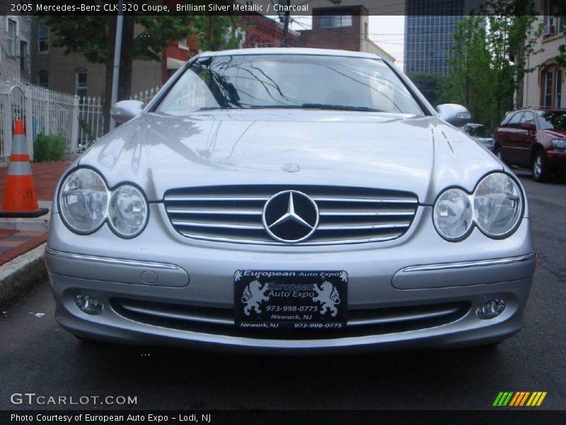 2005 mercedes benz clk 320 coupe in brilliant silver for 2005 mercedes benz clk 320
