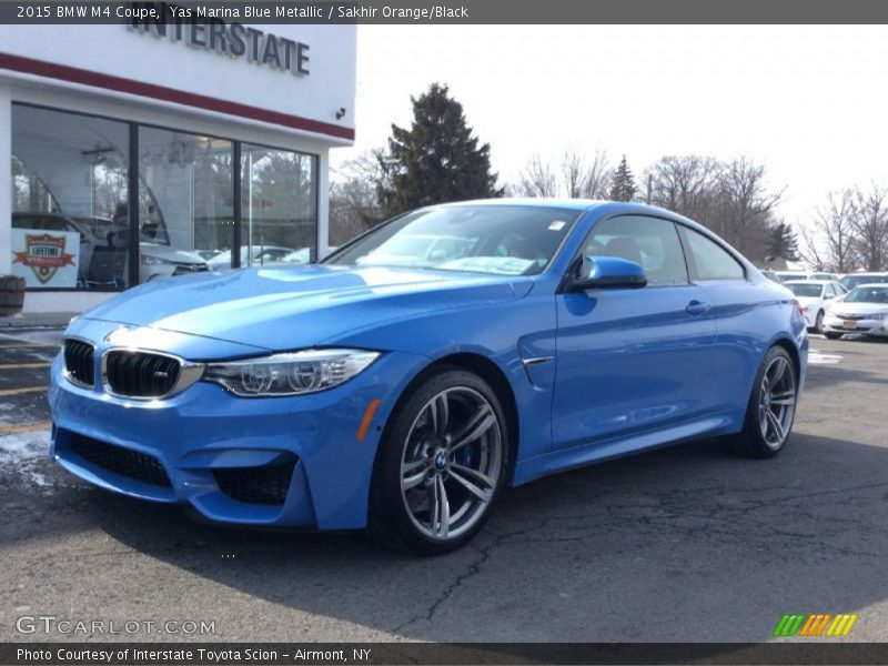 2015 Bmw M4 Coupe In Yas Marina Blue Metallic Photo No