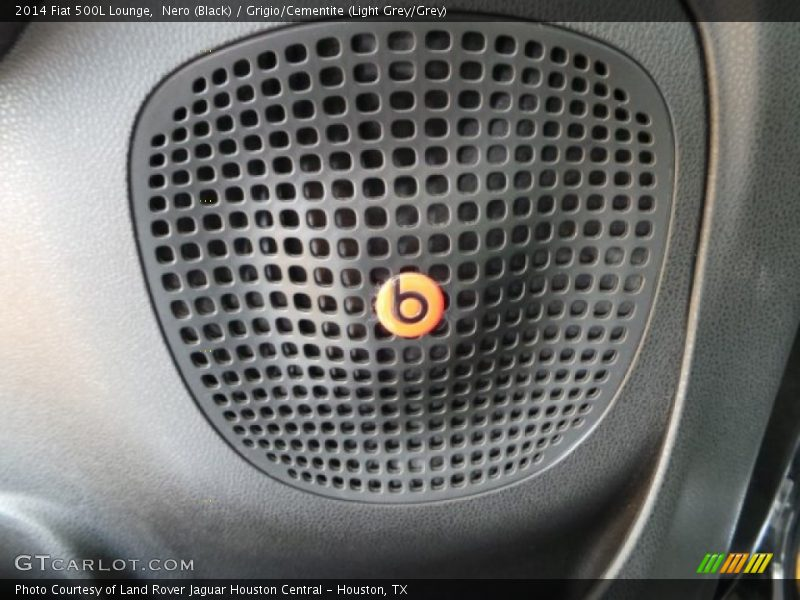 Audio System of 2014 500L Lounge