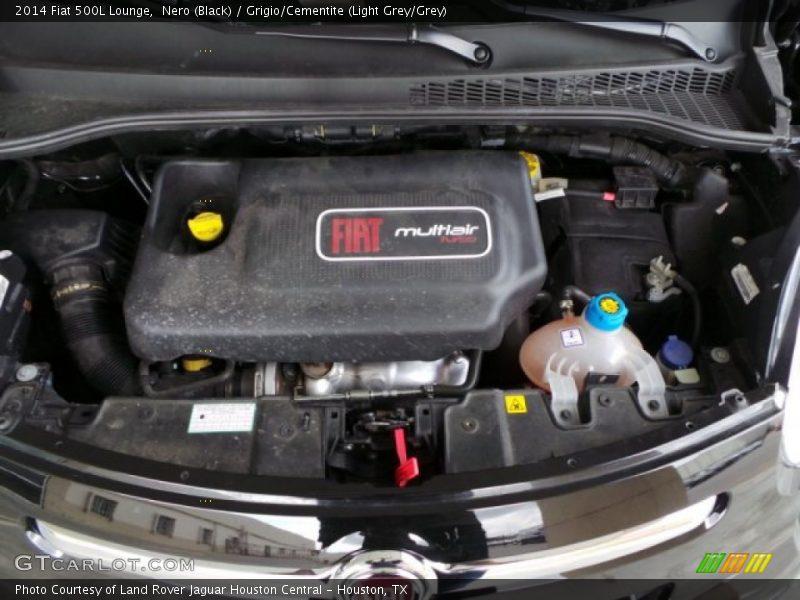 2014 500L Lounge Engine - 1.4 Liter Turbocharged SOHC 16-Valve MultiAir 4 Cylinder