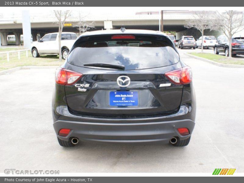 Black Mica / Black 2013 Mazda CX-5 Sport
