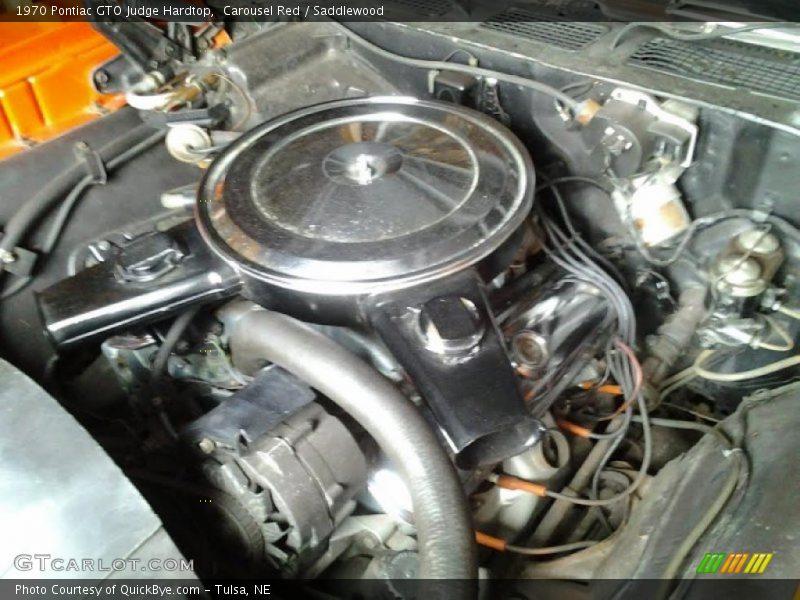 1970 GTO Judge Hardtop Engine - 400 ci V8