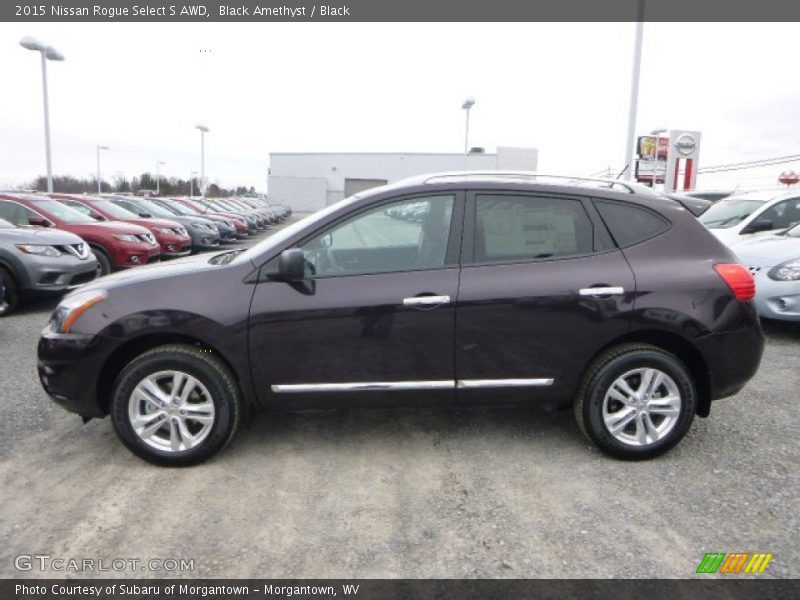 2015 Nissan Rogue Select S Awd In Black Amethyst Photo No