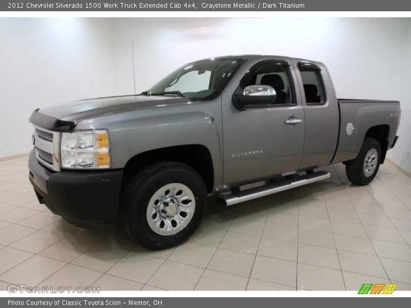 Front 3/4 View of 2012 Silverado 1500 Work Truck Extended Cab 4x4
