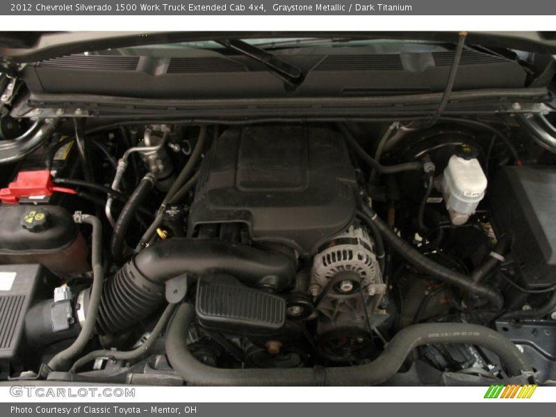 2012 Silverado 1500 Work Truck Extended Cab 4x4 Engine - 5.3 Liter OHV 16-Valve VVT Flex-Fuel Vortec V8