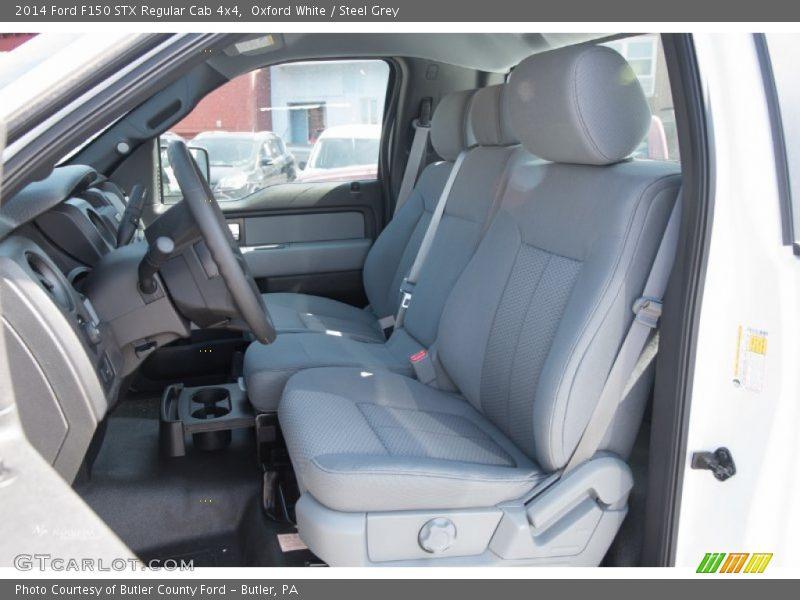 Front Seat of 2014 F150 STX Regular Cab 4x4