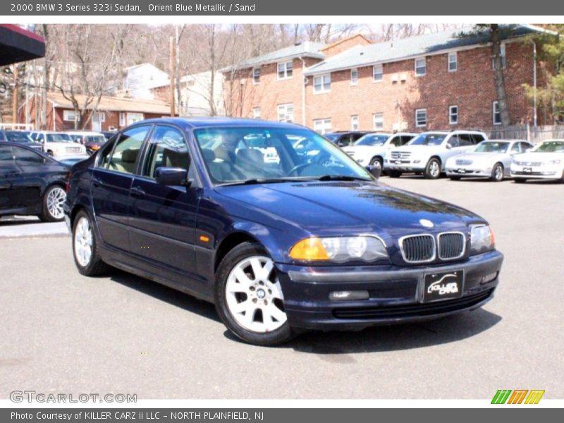 Orient Blue Metallic / Sand 2000 BMW 3 Series 323i Sedan