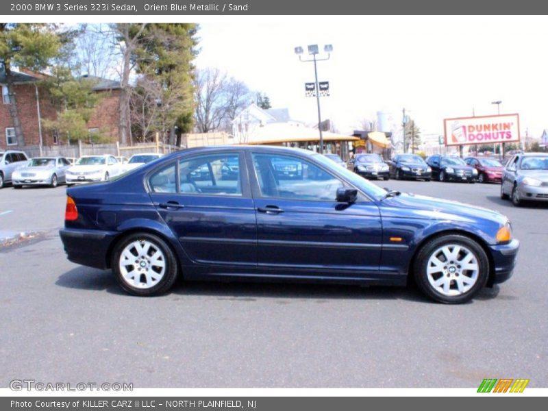 2000 3 Series 323i Sedan Orient Blue Metallic