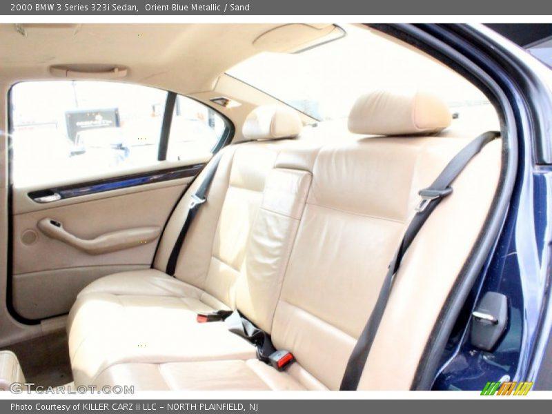 Rear Seat of 2000 3 Series 323i Sedan
