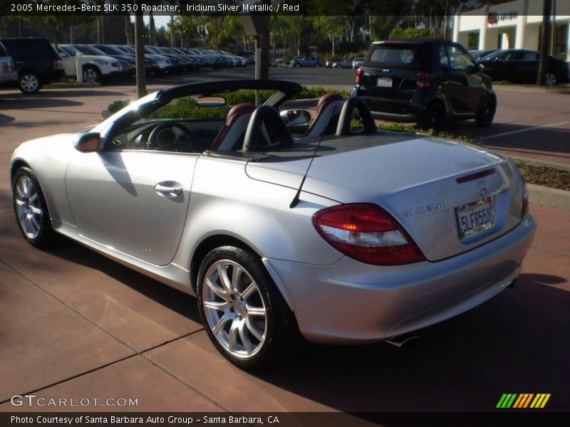 2005 mercedes benz slk 350 roadster in iridium silver. Black Bedroom Furniture Sets. Home Design Ideas