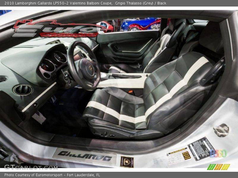 2010 Gallardo LP550-2 Valentino Balboni Coupe Black Interior