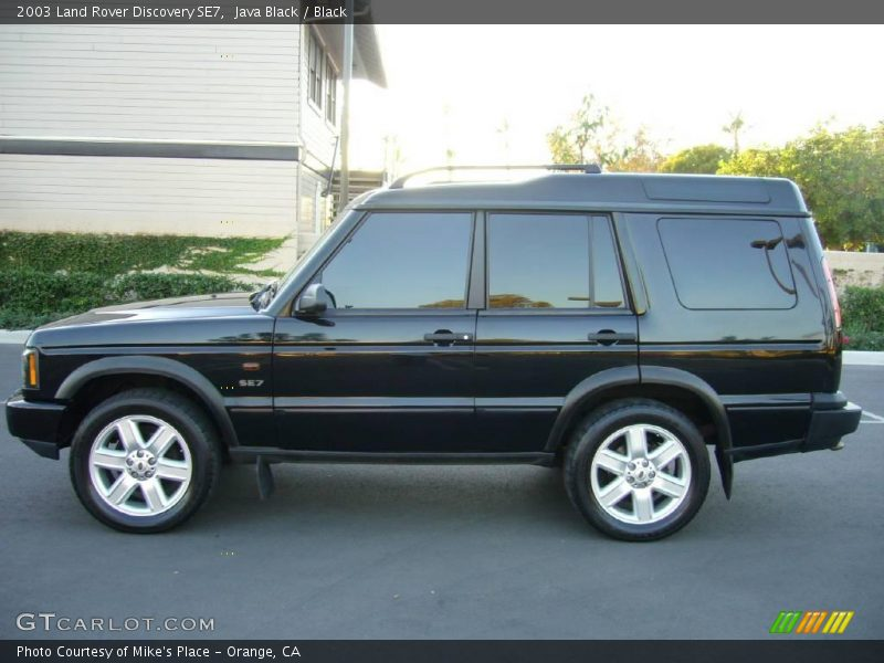 2003 land rover discovery se7 in java black photo no 1032660. Black Bedroom Furniture Sets. Home Design Ideas