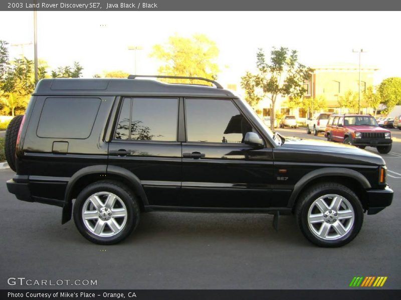 2003 land rover discovery se7 in java black photo no 1032680. Black Bedroom Furniture Sets. Home Design Ideas