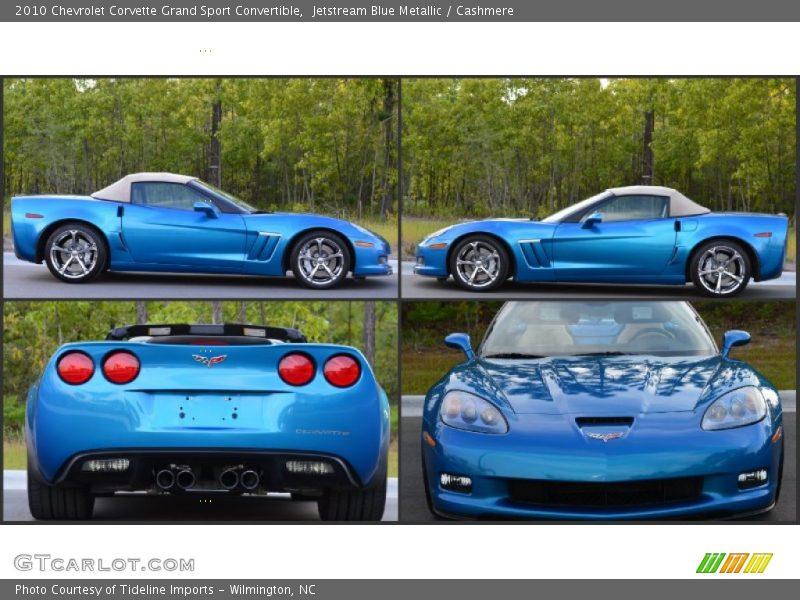 Jetstream Blue Corvette >> 2010 Chevrolet Corvette Grand Sport Convertible in Jetstream Blue Metallic Photo No. 103395063 ...