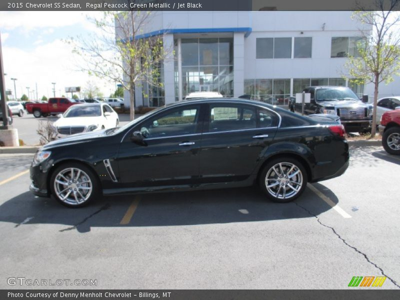 2015 Chevrolet SS Sedan in Regal Peacock Green Metallic ...