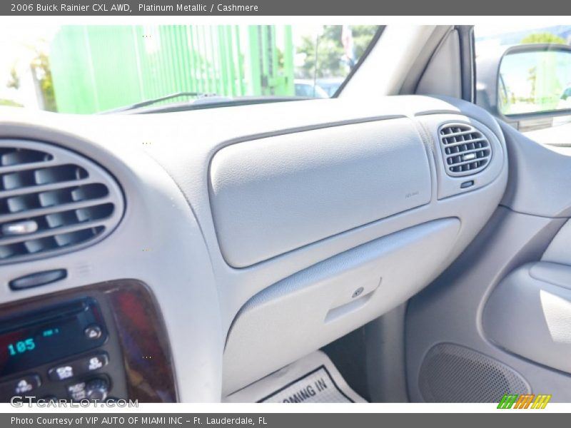 Platinum Metallic / Cashmere 2006 Buick Rainier CXL AWD