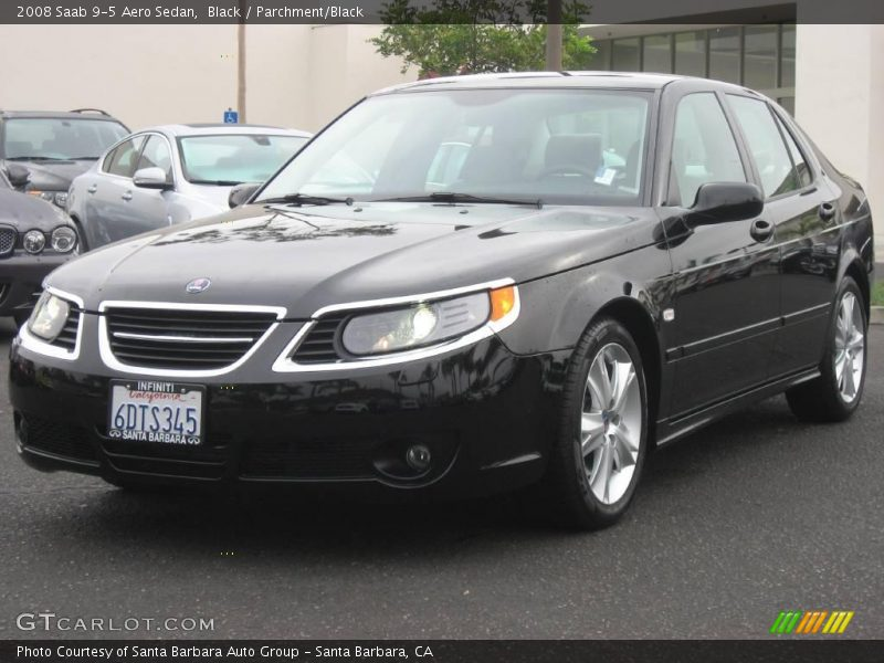 2008 saab 9 5 aero sedan in black photo no 1039367. Black Bedroom Furniture Sets. Home Design Ideas