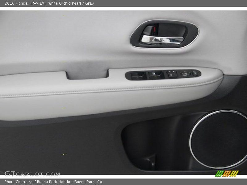 White Orchid Pearl / Gray 2016 Honda HR-V EX
