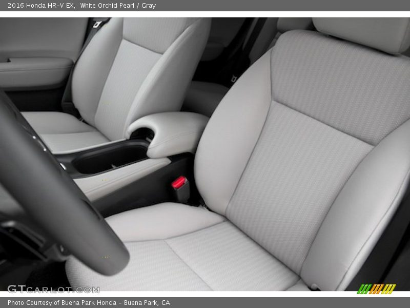 Front Seat of 2016 HR-V EX