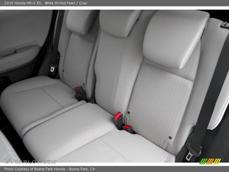 Rear Seat of 2016 HR-V EX