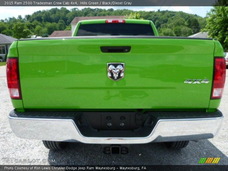 Hills Green / Black/Diesel Gray 2015 Ram 2500 Tradesman Crew Cab 4x4