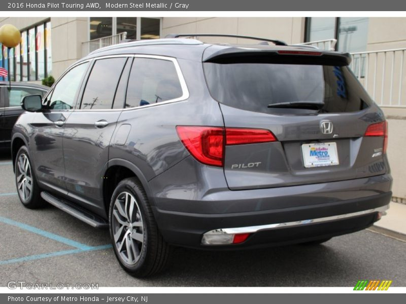 2016 Honda Pilot Touring AWD in Modern Steel Metallic Photo No ...