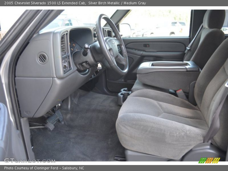 Silver Birch Metallic / Medium Gray 2005 Chevrolet Silverado 1500 LS Extended Cab