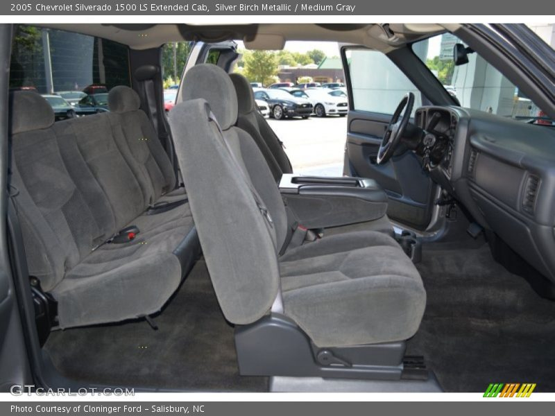 Silver Birch Metallic / Medium Gray 2005 Chevrolet Silverado 1500 LS Extended Cab