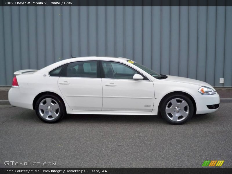 2009 chevrolet impala ss in white photo no 10520350. Black Bedroom Furniture Sets. Home Design Ideas