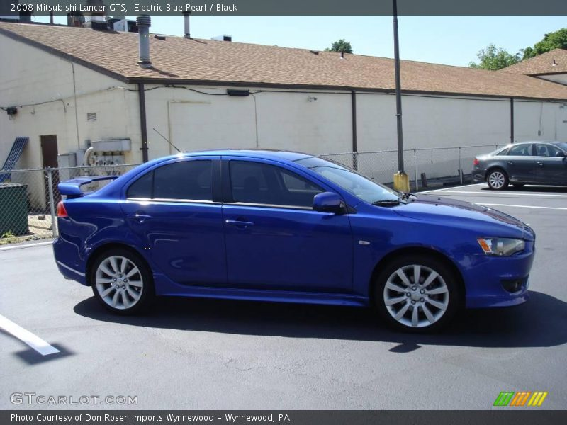 2008 mitsubishi lancer gts in electric blue pearl photo no. Black Bedroom Furniture Sets. Home Design Ideas