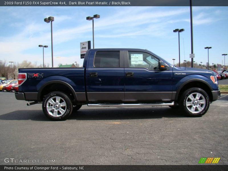 2009 ford f150 fx4 supercrew 4x4 in dark blue pearl. Black Bedroom Furniture Sets. Home Design Ideas