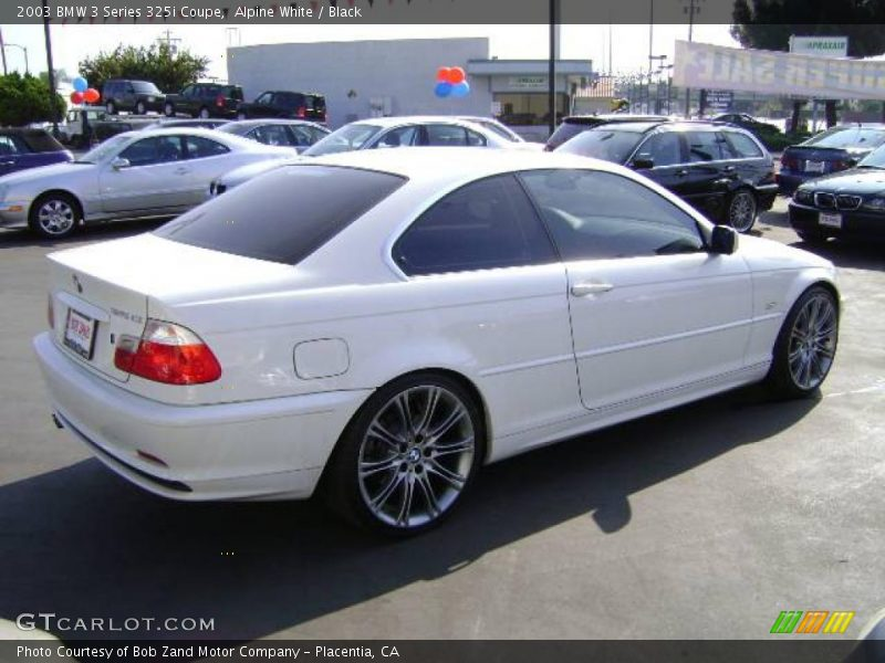 2003 bmw 3 series 325i coupe in alpine white photo no 1056619. Black Bedroom Furniture Sets. Home Design Ideas