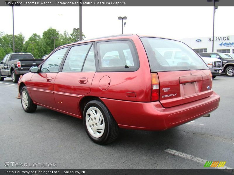 1997 ford escort lx wagon in toreador red metallic photo. Black Bedroom Furniture Sets. Home Design Ideas