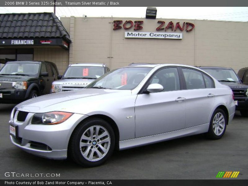 2006 bmw 3 series 325i sedan in titanium silver metallic. Black Bedroom Furniture Sets. Home Design Ideas