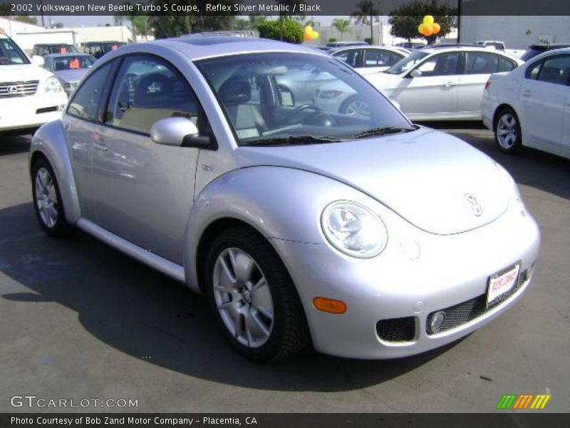 2002 volkswagen new beetle turbo s coupe in reflex silver. Black Bedroom Furniture Sets. Home Design Ideas