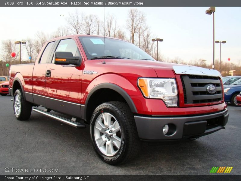 2009 ford f150 fx4 supercab 4x4 in razor red metallic. Black Bedroom Furniture Sets. Home Design Ideas