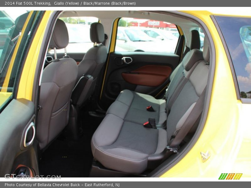 Rear Seat of 2014 500L Trekking