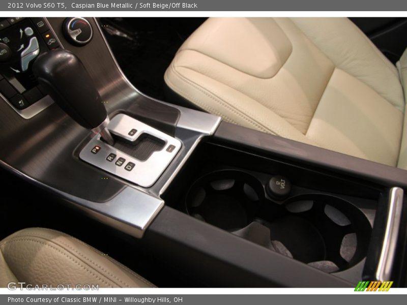 Caspian Blue Metallic / Soft Beige/Off Black 2012 Volvo S60 T5