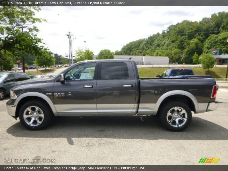 2015 Ram 1500 Laramie Crew Cab 4x4 In Granite Crystal
