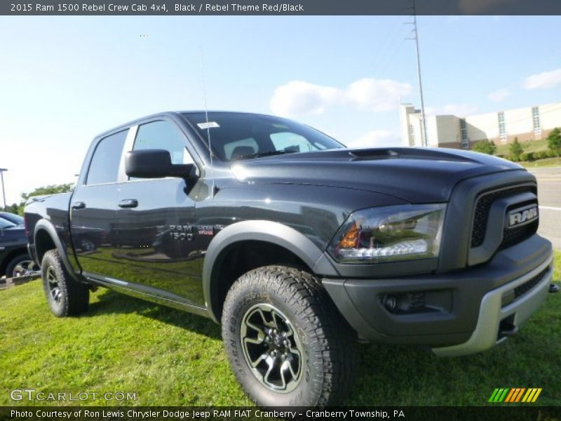 Front 3/4 View of 2015 1500 Rebel Crew Cab 4x4