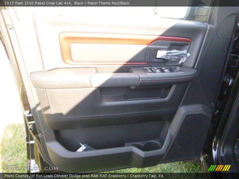 Door Panel of 2015 1500 Rebel Crew Cab 4x4