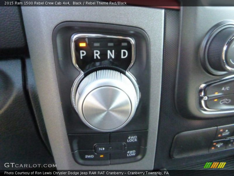 2015 1500 Rebel Crew Cab 4x4 8 Speed Automatic Shifter