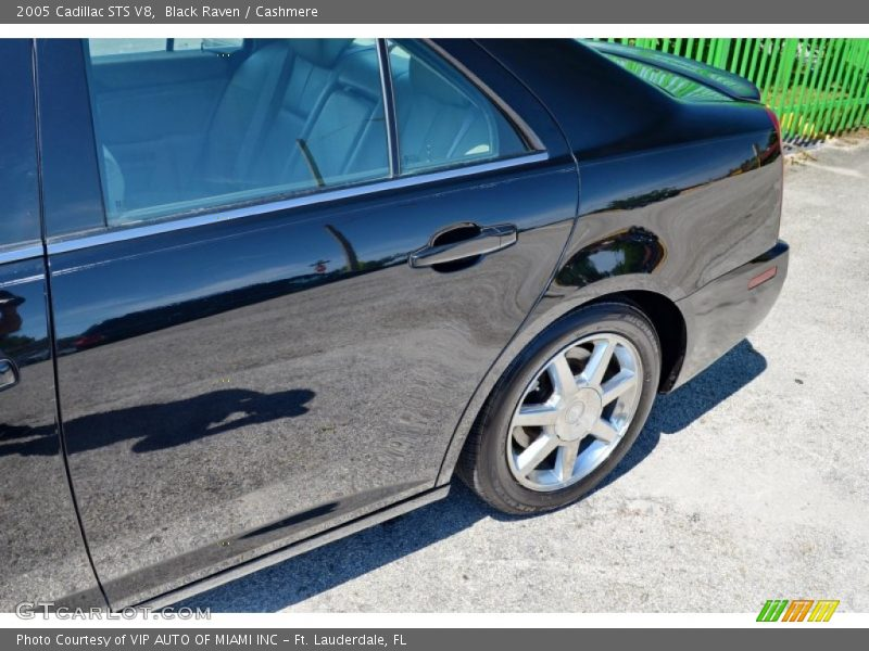 Black Raven / Cashmere 2005 Cadillac STS V8