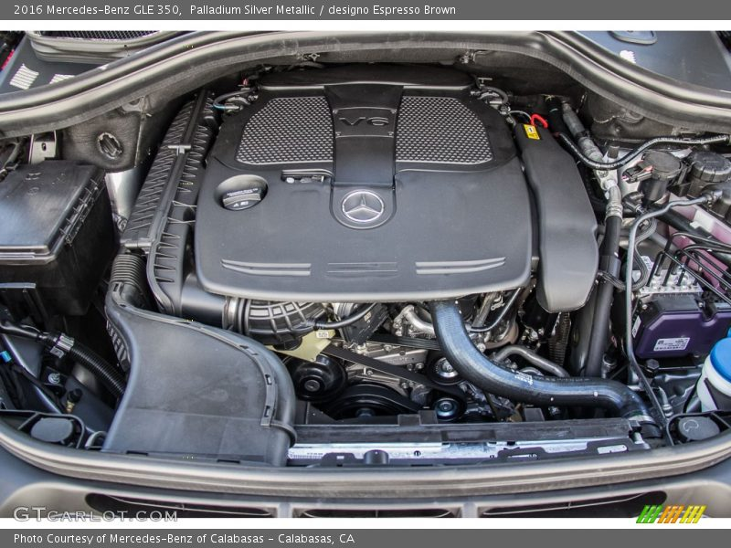 2016 gle 350 engine 3 5 liter di dohc 24 valve vvt v6 for Mercedes benz 3 5 v6 engine