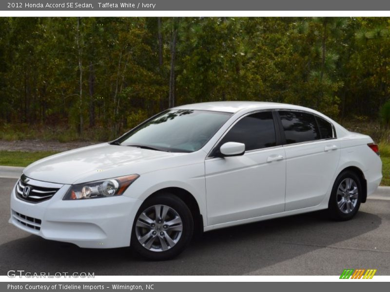 Taffeta White / Ivory 2012 Honda Accord SE Sedan