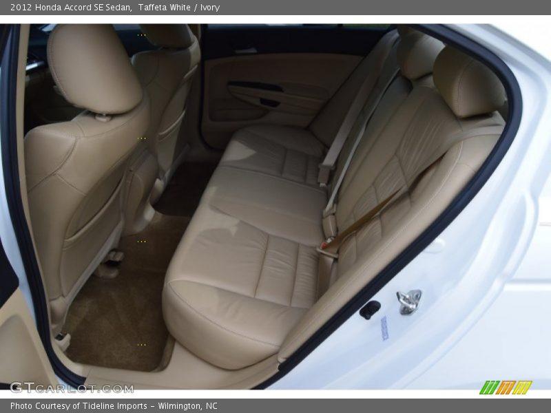 Taffeta White / Ivory 2012 Honda Accord SE Sedan