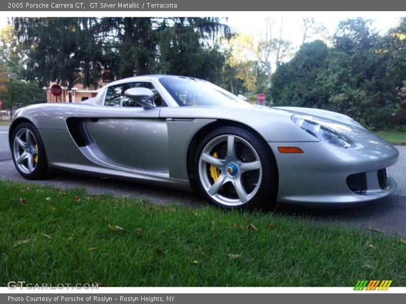 GT Silver Metallic / Terracotta 2005 Porsche Carrera GT