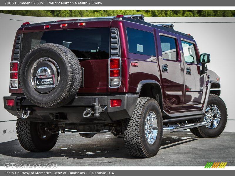 Twilight Maroon Metallic / Ebony 2006 Hummer H2 SUV