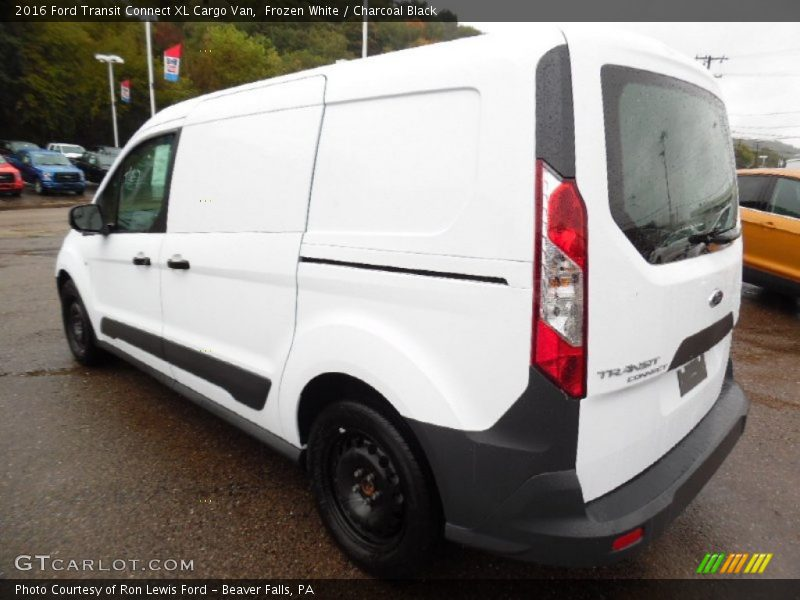 2016 ford transit connect xl cargo van in frozen white photo no 107515512. Black Bedroom Furniture Sets. Home Design Ideas